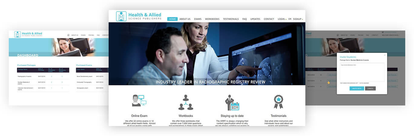 Health & Allied - Industry Leader in Radiographic Registry Review