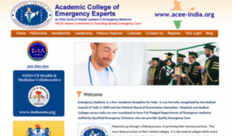 ACEE: Academic College of Emergency Experts