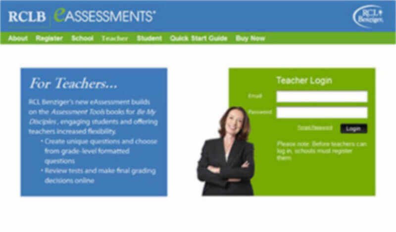 RCL Benziger eAssessments
