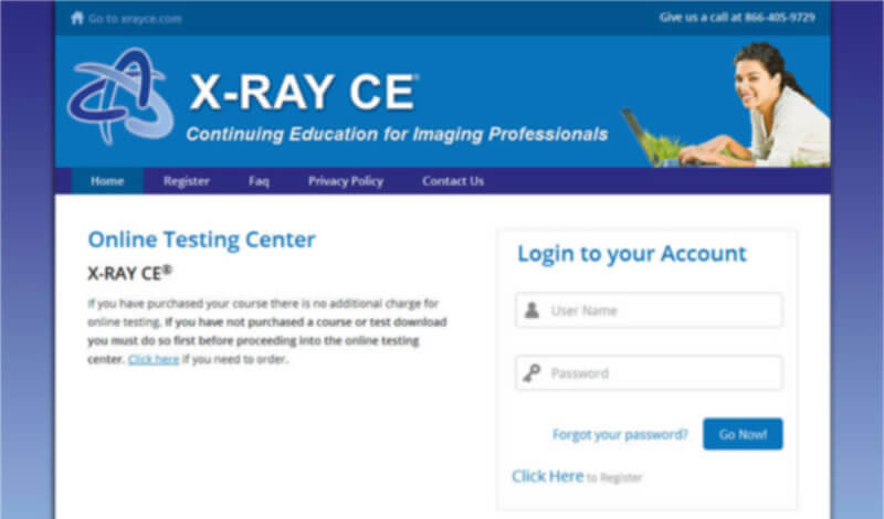 X-Ray CE: Online Testing & Certification for Radiology Professionals