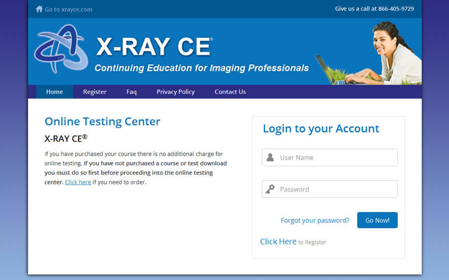 Online Testing & Certification for Radiology Professionals