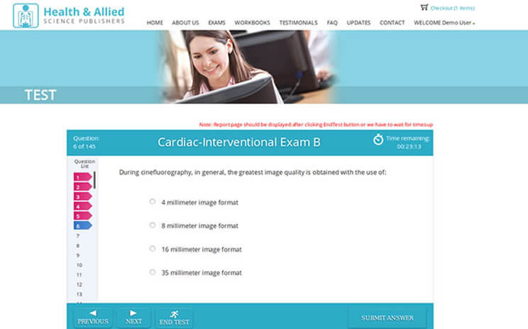 Health & Allied Science Publishers Test